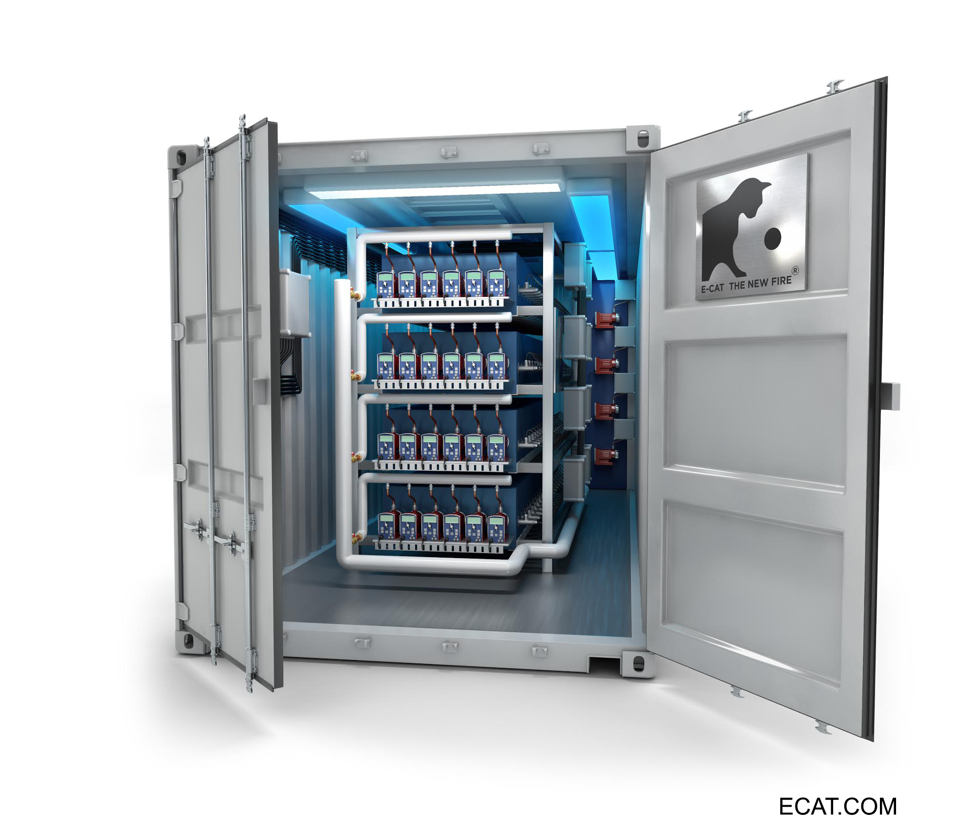 New CAD model released of ECAT 1MW Plant in operation